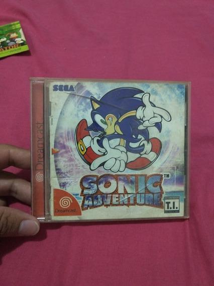 Sonic Adventure Dreamcast (leia O Anúncio)
