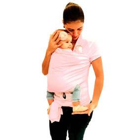Carregador De Bebe Canguru Colo Menina Rosa Wrap Sling Nenem