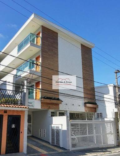 Condomínio Rubiácea  Casa Com 2 Dormitórios À Venda, 48 M² Por R$ 335.000 - Água Fria - São Paulo/sp - Ca0096