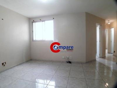 Apartamento Com 2 Dormitórios Para Alugar, 67 M² Por R$ 1.000/mês - Picanco - Guarulhos/sp - Ap5146