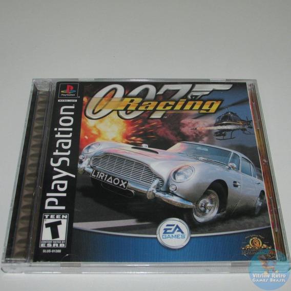 007 Racing Ps1 Original Americano Completo Black Label !!