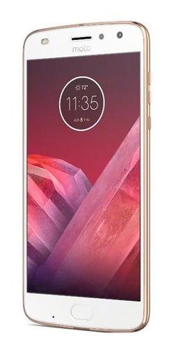 Imagem 1 de 4 de Celular Motorola Moto Z2 Play 64gb Ouro Muito Bom Usado