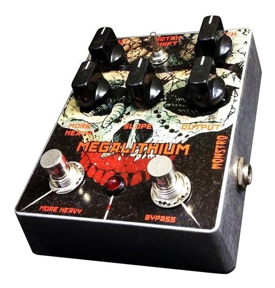 Pedal Megalithium Fuzz P/ Guitarra Monstro Effects Handmade