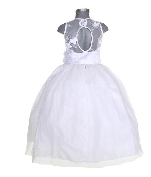 Vestido De Niña Fiesta Modelo Yulissa