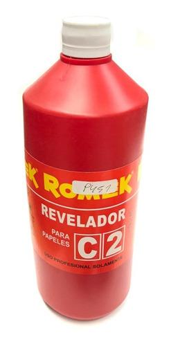 Imagen 1 de 2 de Revelador C2 P/papel Fotografico B Y Negro Romek 4lts (9451)