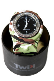 Relógio Twik Slap Army *frete Gratis*