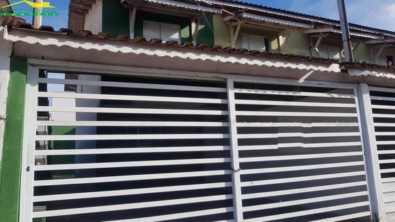 Sobrado Geminado No Centro Do Boqueirão, 2 Dormitórios, Quintal, Só Na Imobiliária Em Praia Grande. - Mp13993
