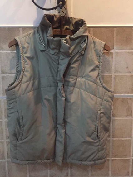 Chaleco Impermeable Mujer Capucha Desmontable Simil Piel