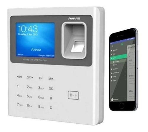Control Personal Biometrico Asistencia Anviz Huella W1 Rfid
