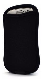 Case Smartphone E Porta Cartão Galaxy S3 E S4-preto - Reliza