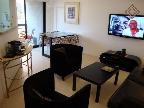 Imagem 1 de 15 de Apartamento Com 1 Dormitório À Venda, 51 M² Por R$ 855.000,00 - Vila Olímpia - São Paulo/sp - Ap54653