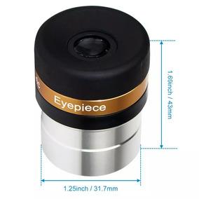 Ocular 4mm Para Telescópio, Ângulo De Visão 62°