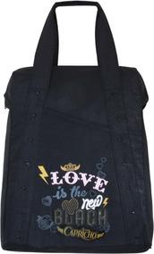 Bolsa Jovem Decorada Capricho Tote Bag Tilibra C/ 2 Unidades