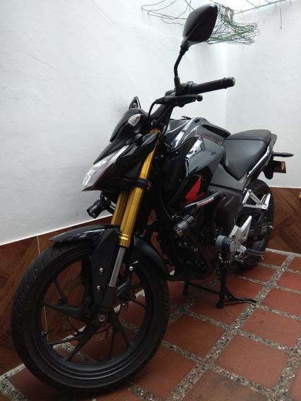 Honda Cb190r Negra, Poco Uso