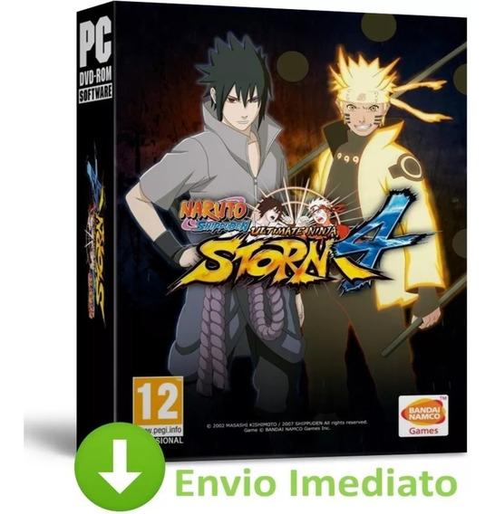 Naruto Shippuden Ultimate Ninja Storm 4 + 6 Dlcs Pc 2019