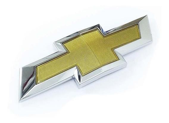 Emblema Da Grade Diant Gravata Dourada S10 E Trailblazer