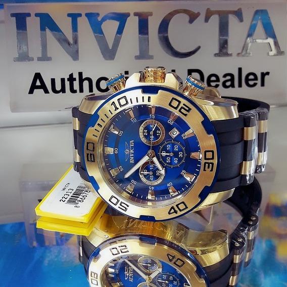 Invicta Pro Diver 22313 Azul Grande 50mm Original Thirs