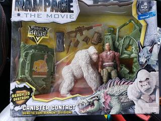 Set Rampage The Movie (devastación) Juguetes