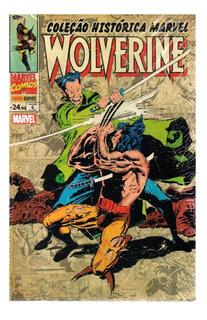 Colecao Historica Marvel Wolverine 6 - Bonellihq Cx451 J18
