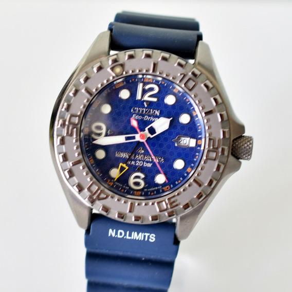 Relógio Citizen - Mission Antarctica - Diver Titanium Ed Lim