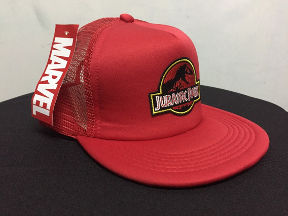 Gorra Jurassic Park Trucker Lic Oficial Accoriginals