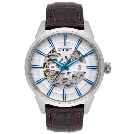 Relógio Orient Nh7sc001 S1mx Masculino Prata - Refinado