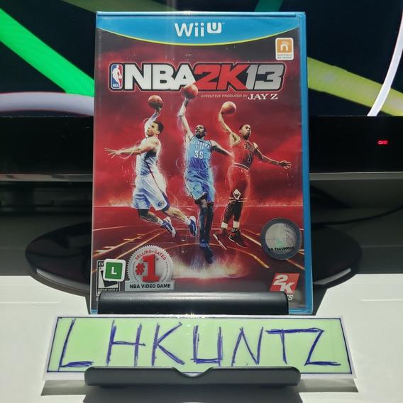Nba 2k13 Wii U Novo Lacrado Raro
