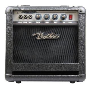 Amplificador Boston Gb15 Para Bajo Eléctrico De 4 Cuerdas /
