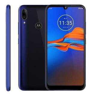 Smartphone Moto E6 Plus 64gb/rom + 4gb/ram Com Biometria