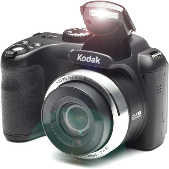 Camara Digital Kodak Semi Reflex Pixpro Az252 16mp Hd Flash