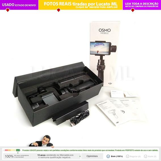 Dji Osmo 1 +2 Baterias +capa Gimbal C/ Caixa P/ Celular | 1b