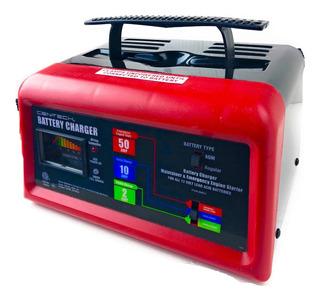 Cargador De Baterias Centech 12v/6v Arrancador 50amp
