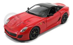Miniatura Ferrari 599 Gto Vermelha Burago 1/24