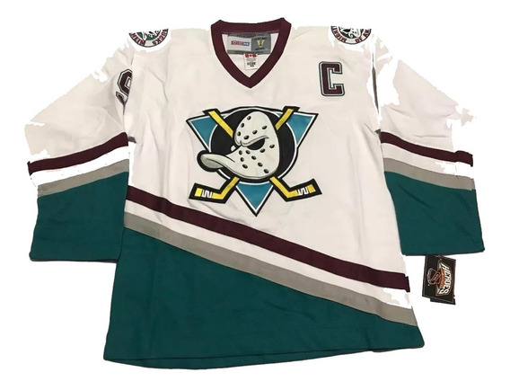 Camisa Mighty Ducks Of Anaheim Kariya 9 Hockey Pta Entrega