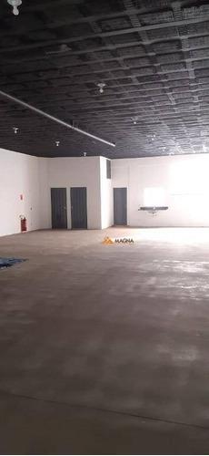 Imagem 1 de 4 de Salão Para Alugar, 200 M² Por R$ 5.000,00/mês - Parque Industrial Lagoinha - Ribeirão Preto/sp - Sl0375