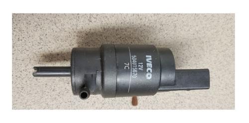 Imagem 1 de 2 de Bomba Do Esguicho De Agua Parabrisas Iveco 504015670