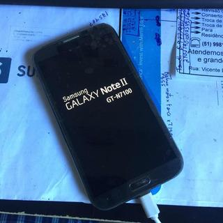 Samsung N7100 Note 2 Original Preto Com Problema De Soft