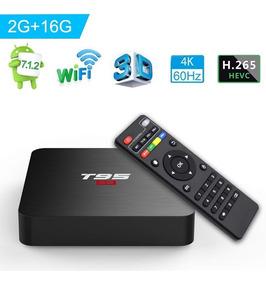 Smart Tv Box Android 7.1 Tv Wifi Netflix Tv 2gb Ram 16gb Rm