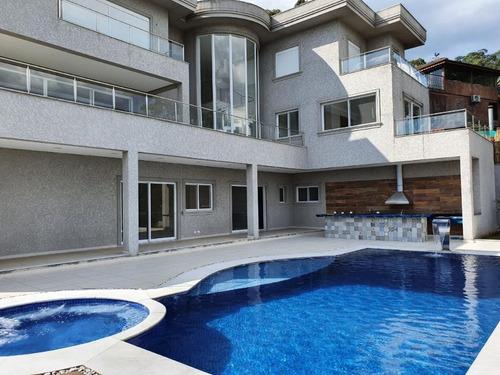 Casa Com 5 Dormitórios À Venda, 1000 M² Por R$ 9.800.000,00 - Residencial Tamboré - Barueri/sp - Ca2398