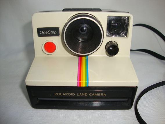 Antiga Polaroid Land Onestep Camera Anos 70 Coleção Cam02