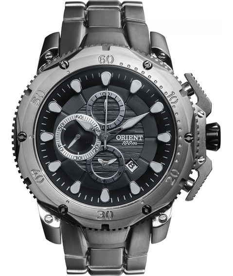 Relógio Orient Mbttc011 Masculino Caixa E Pulseira De Titâni