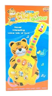 Ap Guitar Tiger Luz Y Sonido Niños Y Niñas Babys 20x39x7cm