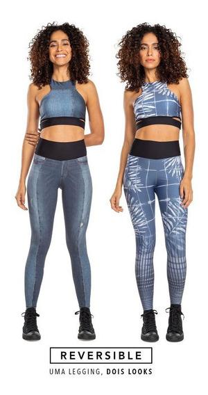Calça Fusô Reversible Jeans Live! / 2 Looks Em 1 Produto