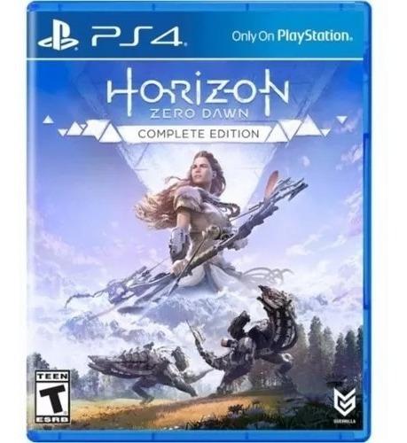Horizon Zero Dawn Ps4 Complete Edition Fisica Português Novo