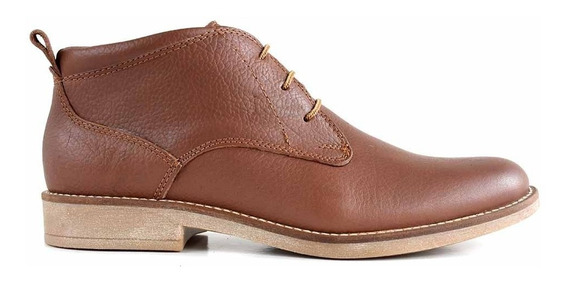 Borcego Bota Briganti Hombre Cuero Zapato Suela - Hcbo00902