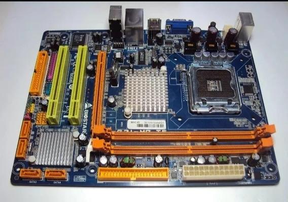 Placa Mãe G31 M7 Com Espelho E Pentium Dual Core 2,70 Ghz