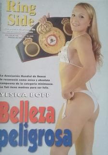 Revista Ring Side N°132.yesica Bopp Campeona Minimosca Amb
