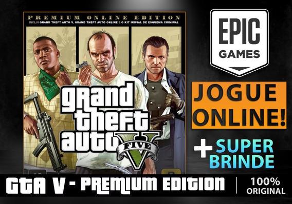 Gta 5 Premium Online - Pc - Epic Games - Grand Theft Auto V