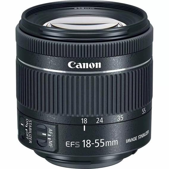 Objetiva Canon 18-55mm Efs Macro 0.25m/0.8ft