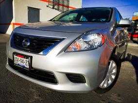 Nissan Versa 1.6 Sense 5vel Mt 2014 Autos Puebla